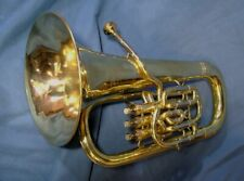 Rebuilt Besson 3 Valve  Bb Euphonium  #2 in nice playing condition.  Lge. Shank.