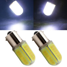 2Pcs 1156 Led White BA15S COB 48 SMD Silica Car Bulb 12V 24V Turn Signal Lights