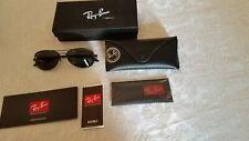 Ray-Ban carbon sunglasses RB 8301 002/N5 56-14 3P Black
