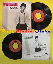 LP 45 7'' ALAIN CHAMFORT Manureva Beguine 1979 france CBS 7497 no cd mc dvd