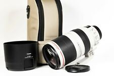 Canon EF 100-400mm F4.5-5.6 L IS II USM Lens in fantastic condition