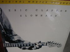 ERIC CLAPTON SLOWHAND Rare MFSL MASTERED BY STAN RICKER 1/2 SPEED SEALED LP