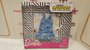 Barbie Outfit Minions The Rise of Gru Clothes Fashion Pack Dress