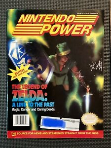 Volume 34 Nintendo Power 1992 gaming magazine back issue Zelda Link to the Past