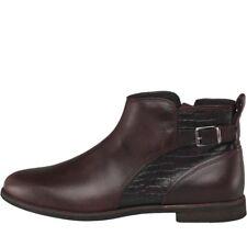 UGG Womens Demi Croc Ankle Boots Cordovan UK 3.5 EU 36 LN34 92