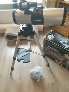 Meade Computer Guided Telescope Model DS-2114ATS Full Set Up With Original Box