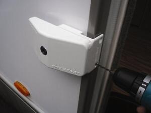 Milenco Caravan Motorhome Security Door Frame Sliding Lock 2646