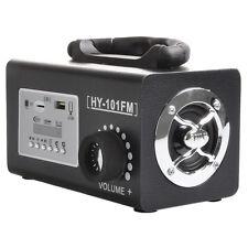 Stereo FM Radio HIFI Speaker MP3 Music Player USB TF Card U Disk Remote Hot