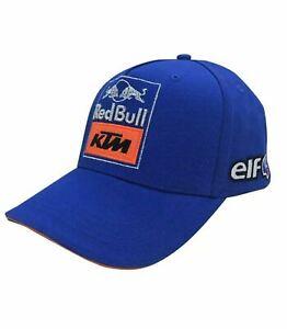 CAP Baseball Hat Red Bull KTM Tech3 Racing Team Bike Motorcycle MotoGP NEW! Blue