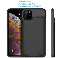 Rechargeable Battery Case For iPhone 11 Pro Max External Charging Power Cover