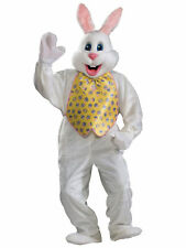 Easter Bunny Premium Deluxe Plush Mascot Rabbit Suit Adult Mens Costume STD