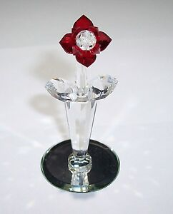 CRYSTAL WORLD RED ROSE FOR YOUR VALENTINE - ESTATE CLEARANCE CLOSEOUT SALE BUY