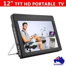 12 Inch TFT LED HD TV Portable DVB-T2 Television DC 12V Digital Analog Car TV AU