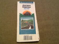 Late 90's  Kentucky-Tennesee Highway Map