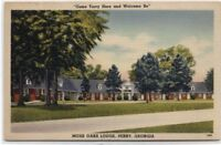 MOSS OAKS LODGE~PERRY,GEORGIA~LINEN~DUNCAN HINES