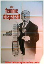 UNE FEMME DISPARAIT Affiche Cinéma / Poster HITCHCOCK