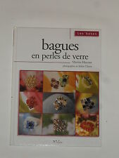 Livre loisirs créatifs (Bagues en perles de verres) 80 pages