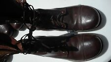 Original US Army Brown Boots Size 9D