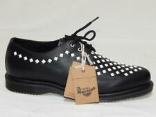 New DR. MARTENS Unisex Black White Willis Pyramid Stud Creepers Size 10 Men 11 L