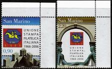 SAN MARINO MNH 2006 il quarantesimo anniversario dell' ITALIANO FILATELIA Press Association