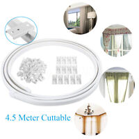 3 Meter Cuttable Bendable Curtain Track Rail For Straight