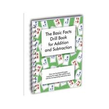 Basic Math Facts Drill Book Addition Subtraction Reproducible Practice Pages