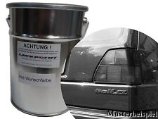 1 Liter Base de agua Para pulverizar Pintura VW Golf 2 L90E Blanco alpino Tuning
