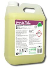 FRESH WILD LEMON DAILY CLEANER & DISINFECTANT BY CLOVER CHEMICALS INC FAST P&P