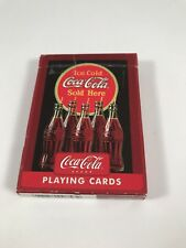 Ice Cold Coca Cola Sold Here Playing Cards #753-R Single Deck Bicycle Brand