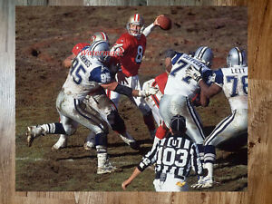 NFL QB Steve Young San Francisco 49ers Game Action Color 8 X 10 Photo Picture