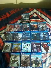 PS4 Game Lot CHEAP!!! Choose Your Game!!! All Games Come With Original Cases!!!
