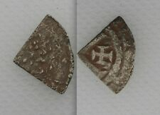 Collectable 1154-89 King Henry II Silver Hammered Cut Quarter - Tealby Coinage