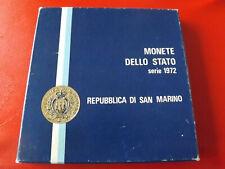 * San Marino KMS 1972 mit 500 Lira Silber (Ki.1)