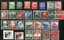 GERMANY Deutsches Reich SC# 436-441 446-468 Stamps Postage 1934-35 USED