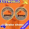 FRONT REAR Brake Shoes SUZUKI TS 100 1975 1976 1977 1978 1979 1980 1981