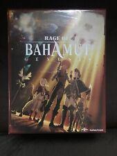 Rage Of Bahamut Genesis (Blu-ray/DVD) Limited Edition W/ Art book New Anime