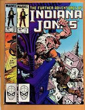 The Further Adventures Of Indiana Jones #11 & 12 NM- to NM
