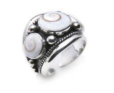 Tribal Spirit Ring Shivaauge Silber 925 Fairtrade Shivaeye schmuckrausch