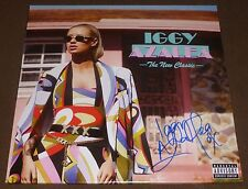 IGGY AZALEA SIGNED THE NEW CLASSIC RECORD ALBUM LP VINYL