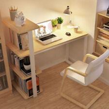 High Strength Comeputer Desk Office Laptop PC Work Study Table 4-Tier Bookshelf