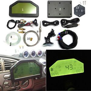 Full Car Sensor Kit Dash Race Display Blueteeth Rally Dashboard Gauge Monitor