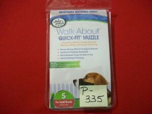 BRAND NEW FOUR PAWS WALK-ABOUT QUICK-FIT MUZZLE SMALL SIZE FOR SMALL DOG BREED