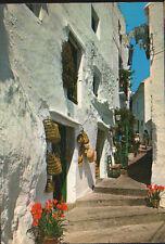 POSTAL CALLE TIPICA DE CASARES . MALAGA . ANDALUCIA . MAS EN MI TIENDA CC2419