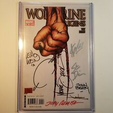 Marvel Wolverine Origins #10 Comic Book 8 Signed Stan Lee Len Wein Romita Jae