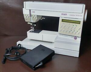 PFAFF Creative 1475 CD IDT Feed System Sewing Machine, Works Great!