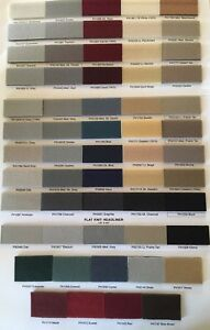 LINCOLN FOAM-BACKED HEADLINER MATERIAL /  ANY YEAR & COLOR OF YOUR CHOICE