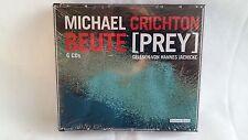 BEUTE - MICHAEL CRICHTON - THRILLER - HÖRBUCH - 6 CD's - NEU & OVP