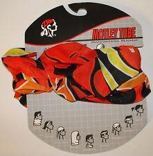 Original Big Flame Motley Tube Multi Function Headwear Biker Beanie Sports ATV