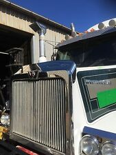 Stainless Wrap Around Bug Deflector to suit Western Star 4800/4900