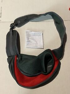 imounTEK Pet/dog Tote/Carrier - Red And Grey - Small - New With Instructions